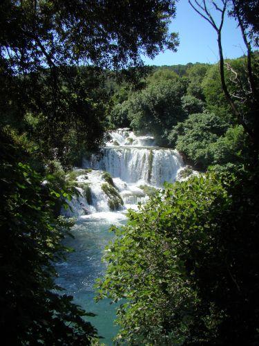 Zdjęcia: Krka, Dalmacja, Wodospad, CHORWACJA
