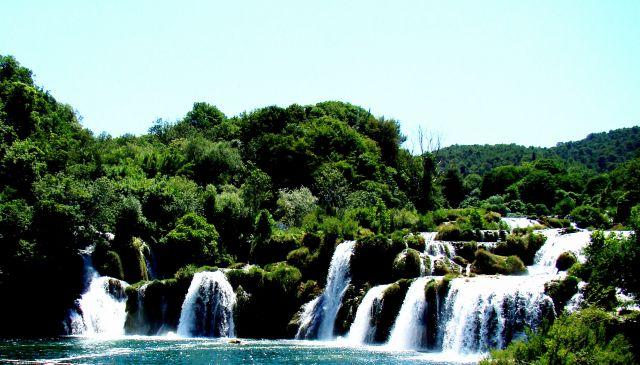Zdjęcia: Krka, Dalmacja, Wodospad 2, CHORWACJA