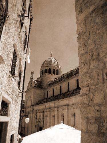 Zdjęcia: Sibenik, Dalmacja, Katedra, CHORWACJA