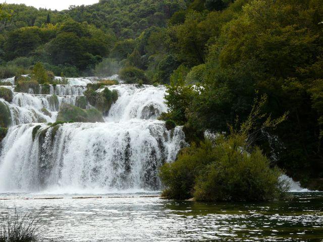 Zdjęcia: Park Narodowy Krka, Bałkany, Wodospad, CHORWACJA