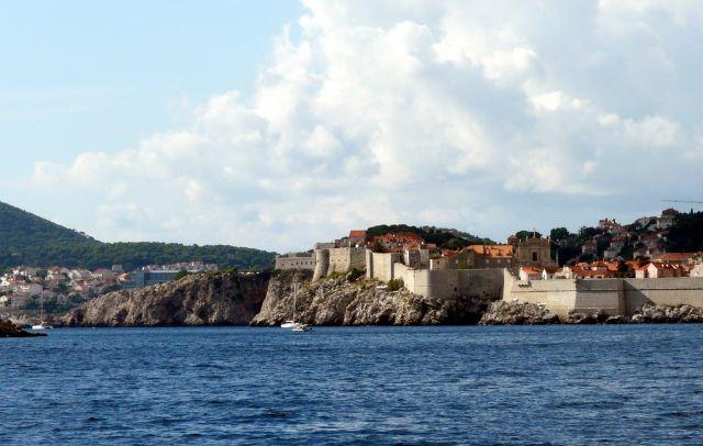 Zdjęcia: Dubrownik, Dalmacja, Dubrownik od strony morza, CHORWACJA