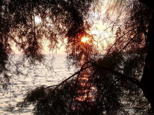 Zdjęcia: Omisz, Dalmacja, Zachód słońca 02, CHORWACJA