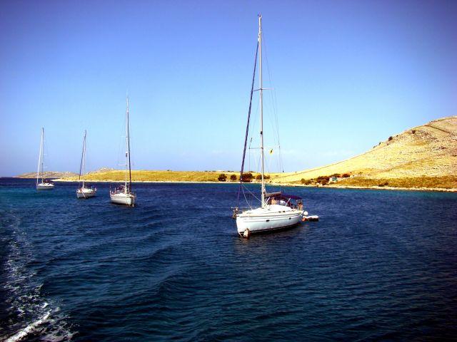 Zdjęcia: Kornati, Dalmacja, Łódki, CHORWACJA