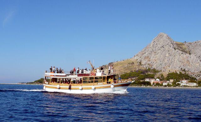 Zdjęcia: Omisz, Dalmacja, Rejs po Adriatyku, CHORWACJA