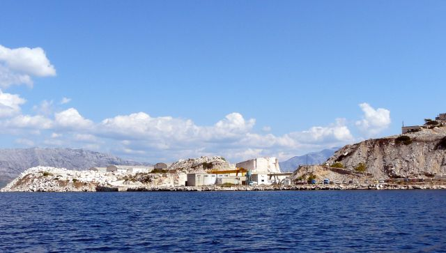 Zdjęcia: Wyspa Bracz, Dalmacja, Kopalnia marmuru, CHORWACJA