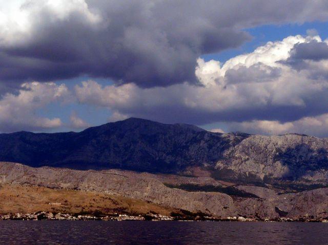 Zdjęcia: Widok z Wyspy Bracz, Dalmacja, Wybrzeże Adriatyku, CHORWACJA