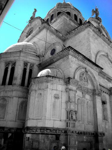 Zdjęcia: Sibenik, Dalmacja, Katedral 2, CHORWACJA