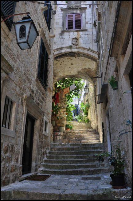 Zdjęcia: Dubrovnik, Dalmacja, Uliczka, CHORWACJA