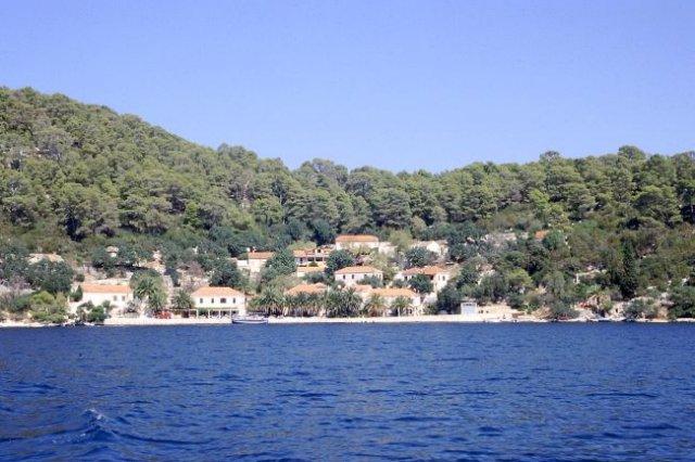 Zdjęcia: wyspa Mljet, Dalmacja, Pristaniste - Park Narodowy Mljet, CHORWACJA