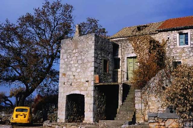 Zdjęcia: wyspa Hvar, Dalmacja, mała mieścinka, CHORWACJA