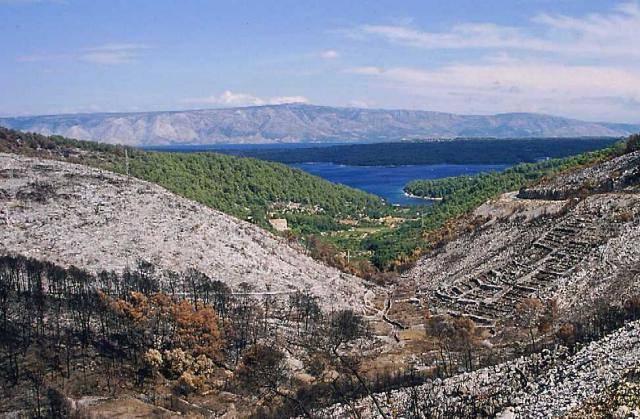 Zdjęcia: wyspa Hvar, Dalmacja, kontrast, CHORWACJA