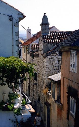 Zdjęcia: Split, Dalmacja, uliczka, CHORWACJA