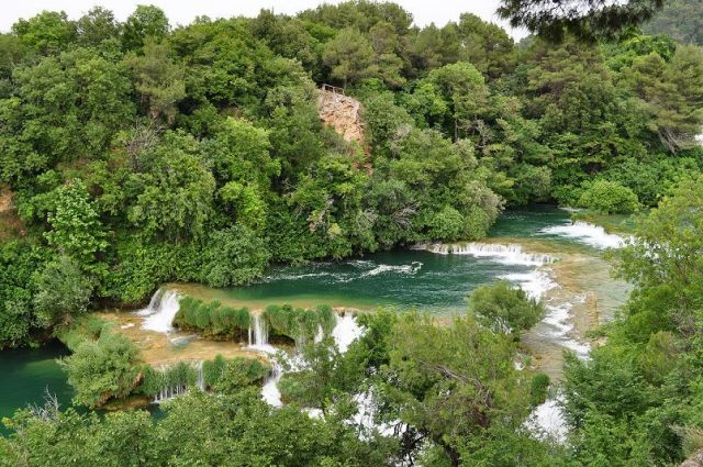 Zdjęcia: Park Narodowy Krk Skradin, Dalmacja Środkowa, Wodospad, CHORWACJA