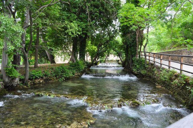 Zdjęcia: Park Narodowy Krk Skradin, Dalmacja Środkowa, ..., CHORWACJA