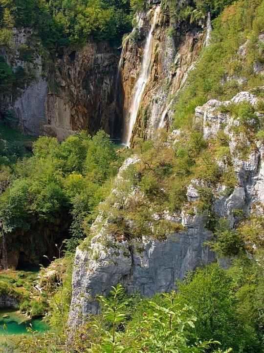 Zdjęcia: Plitvice, Wodospady, CHORWACJA