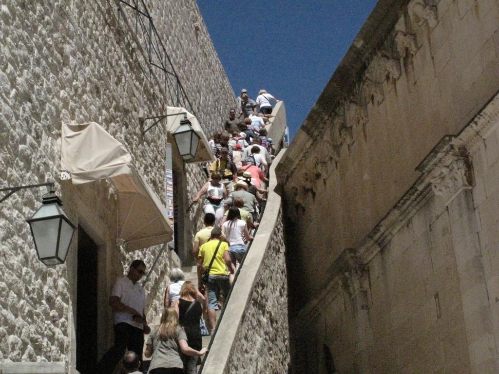 Zdjęcia: Dubrownik, Dubrownik, Wejście na mury obronne, CHORWACJA