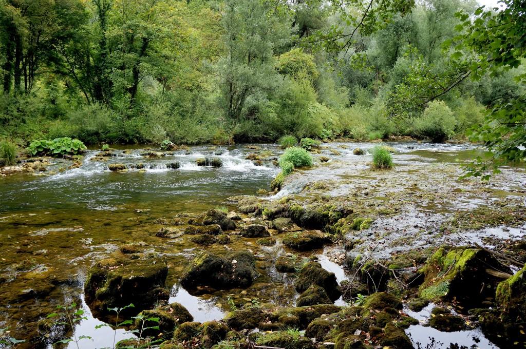 Zdjęcia: skansen młynów wodnych, Slunj, środkowa Chorwacja, Slunjčica..., CHORWACJA