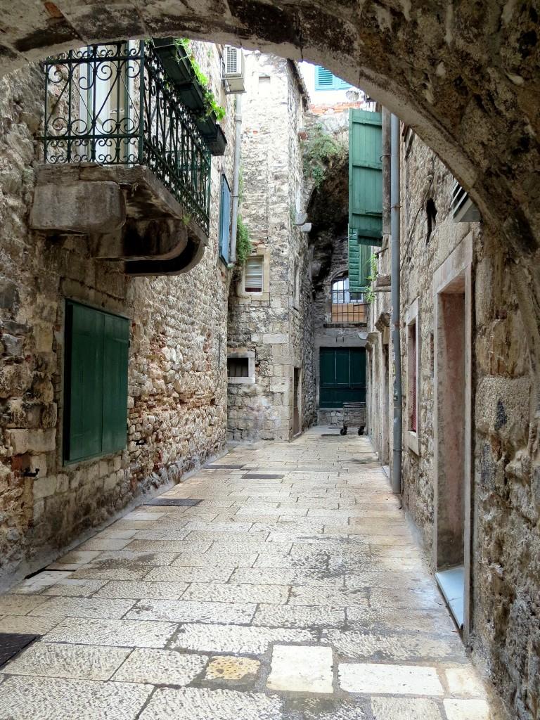 Zdjęcia: Split, Dalmacja, w labiryncie wąskich uliczek..., CHORWACJA