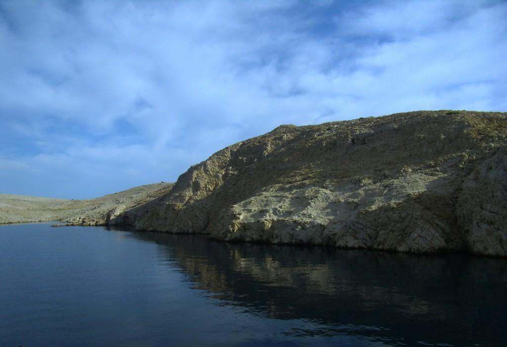 Zdjęcia: okolice Wyspy Pag, Dalmacja, płyniemy..., CHORWACJA