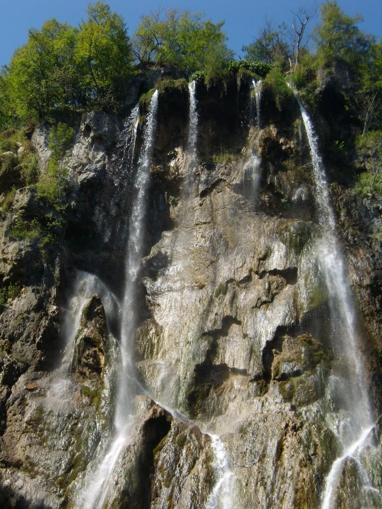 Zdjęcia:  Park Narodowy, Plitwickie jeziora, kaskada, CHORWACJA