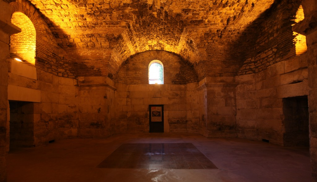 Zdjęcia: Pałac Dioklecjana, Split, Podziemia, CHORWACJA