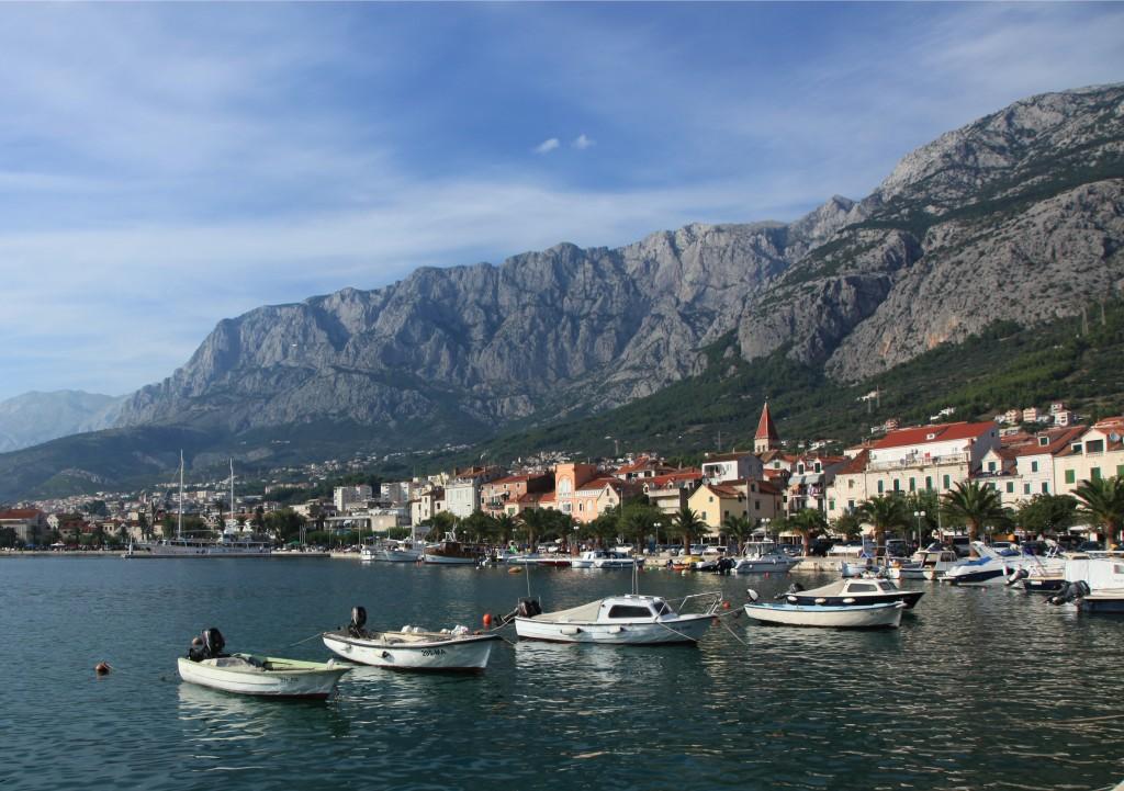 Zdjęcia: Makarska, Okręg Splicko-Dalmatyński, W górach i nad morzem, CHORWACJA