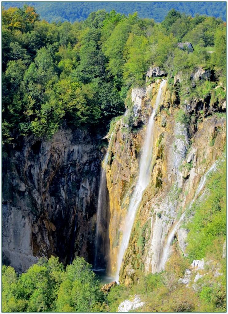 Zdjęcia: Park Narodowy Jezior Plitwickich, środkowa Chorwacja, najwyższy Veliki Slap..., CHORWACJA
