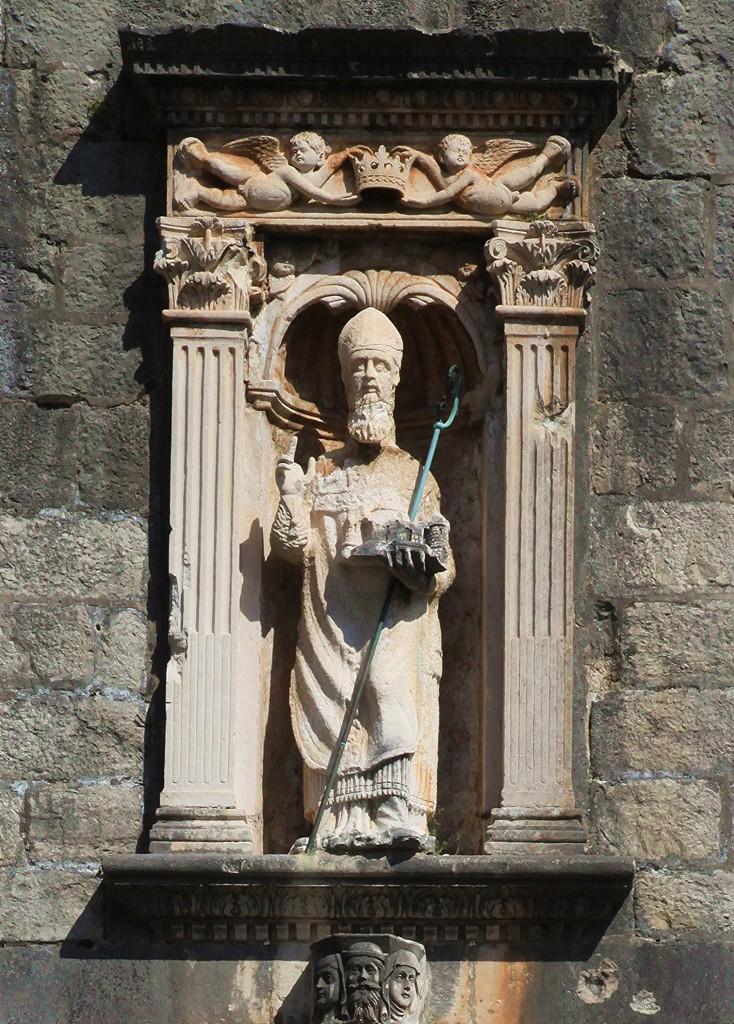 Zdjęcia: Brama Pile, Dubrovnik, Św. Błażej, patron miasta, CHORWACJA