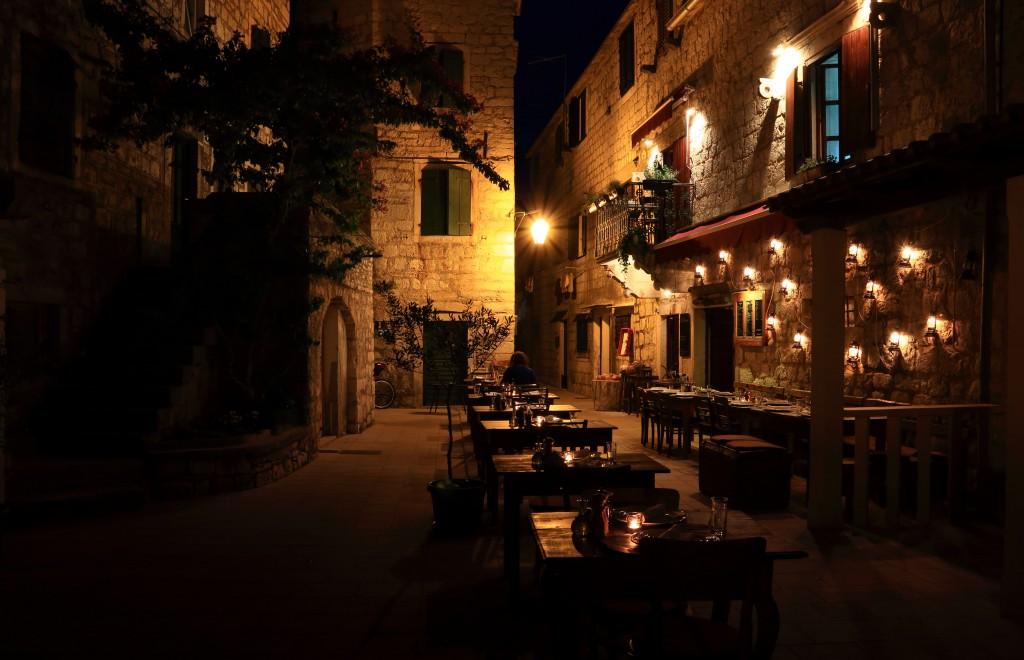 Zdjęcia:  Stari Grad , Środkowej Dalmacji -Hvar,  Uliczki starego miasta, CHORWACJA