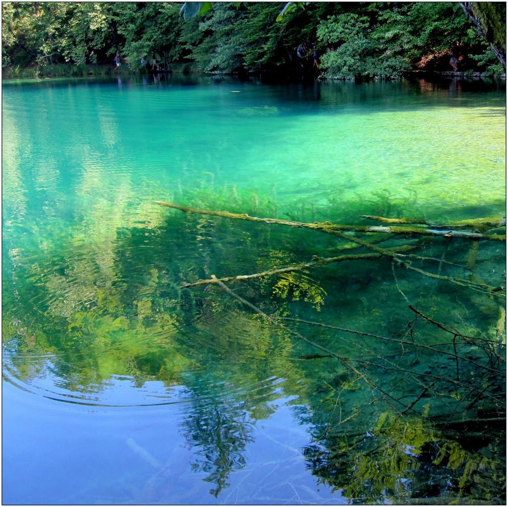 Zdjęcia: Park Narodowy Jezior Plitwickich, środkowa Chorwacja, melanż kolorów..., CHORWACJA