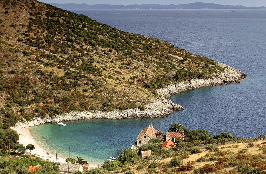 Zdjęcia: Hvar, Środkowej Dalmacji -Hvar, Hvarskie zatoki., CHORWACJA