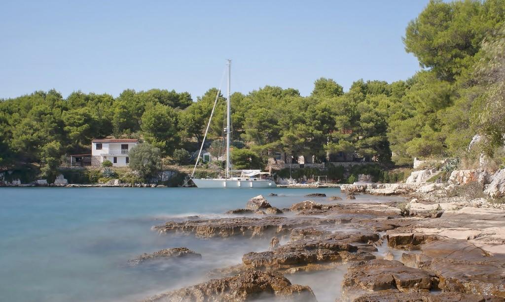Zdjęcia: Lavdara, Dalmacja, Wyspa Lavdara, CHORWACJA