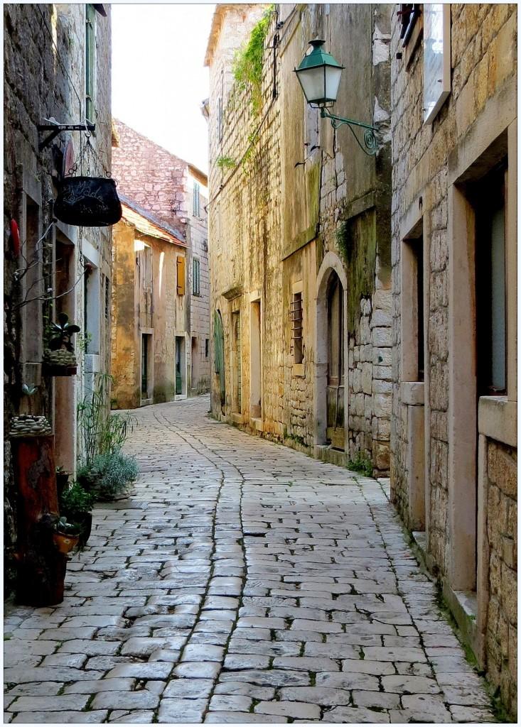 Zdjęcia: Stari Grad, Hvar, tu ciut chłodniej..., CHORWACJA