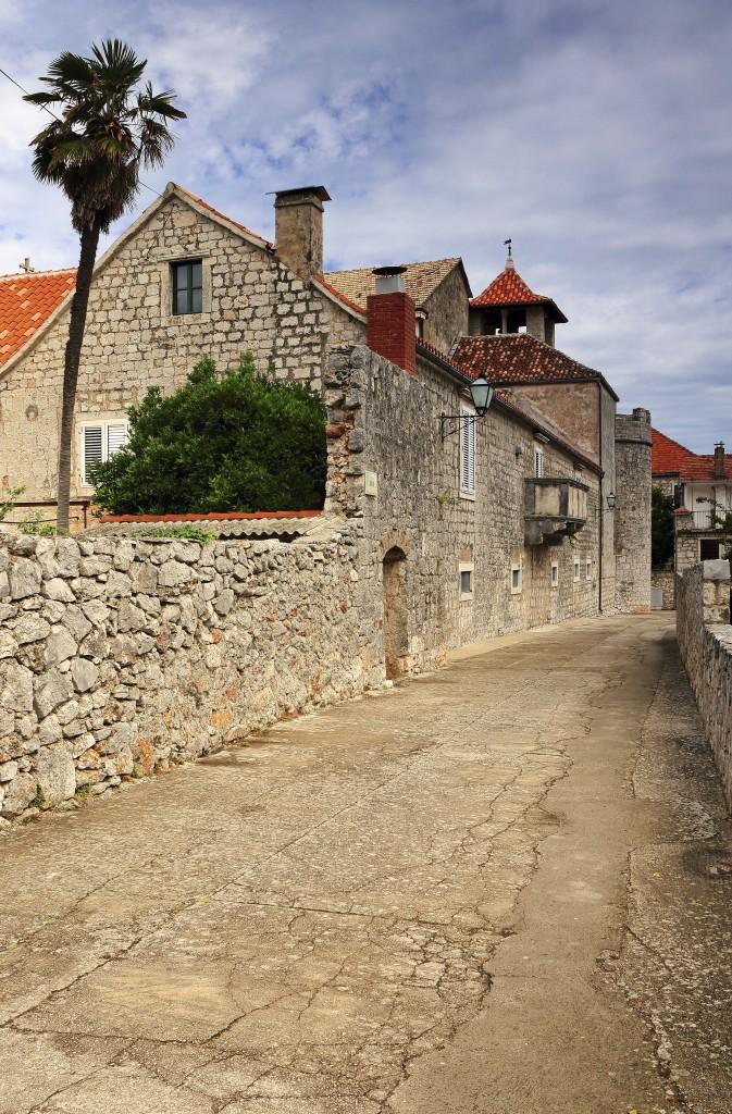 Zdjęcia:  Stari Grad , Środkowej Dalmacji -Hvar, Kościół św. Piotra i klasztor dominikanów, CHORWACJA