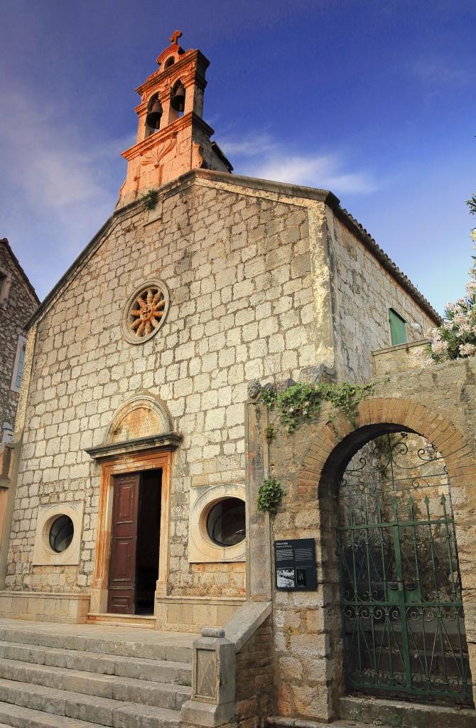 Zdjęcia:  Stari Grad , Środkowej Dalmacji -Hvar, Kościół św.Rocha, CHORWACJA
