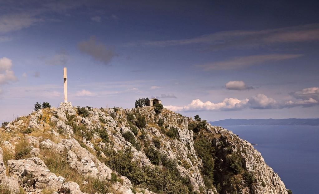 Zdjęcia: Hvar-góra zwana Sv. Nikola, Środkowej Dalmacji -Hvar,  Najwyższy szczyt Hvaru, CHORWACJA