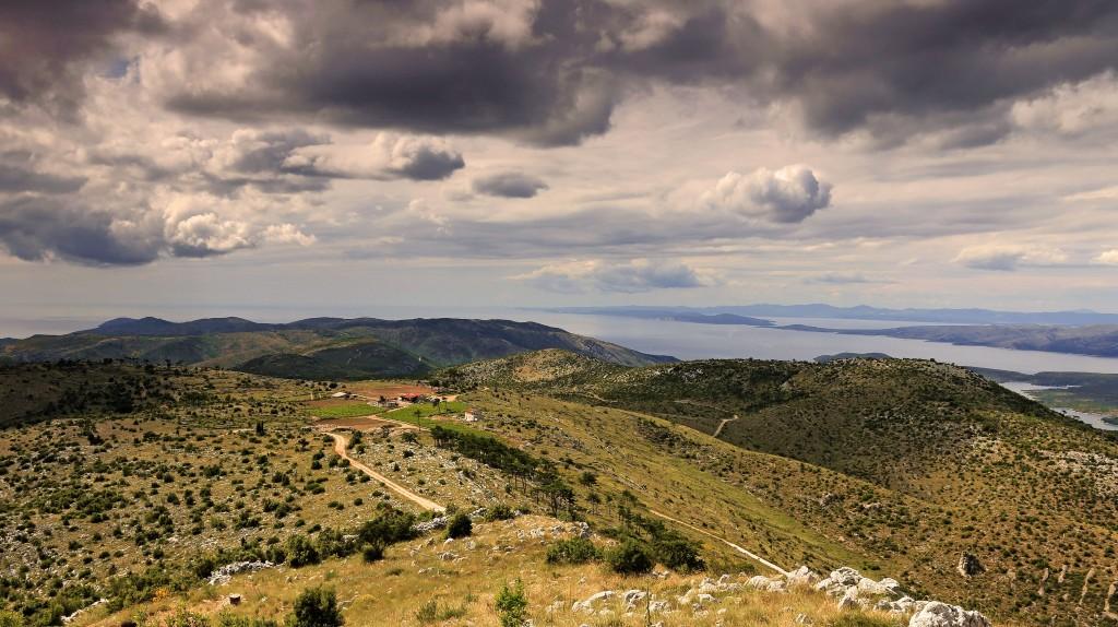 Zdjęcia: Hvar, Środkowej Dalmacji -Hvar, Droga do ..., CHORWACJA
