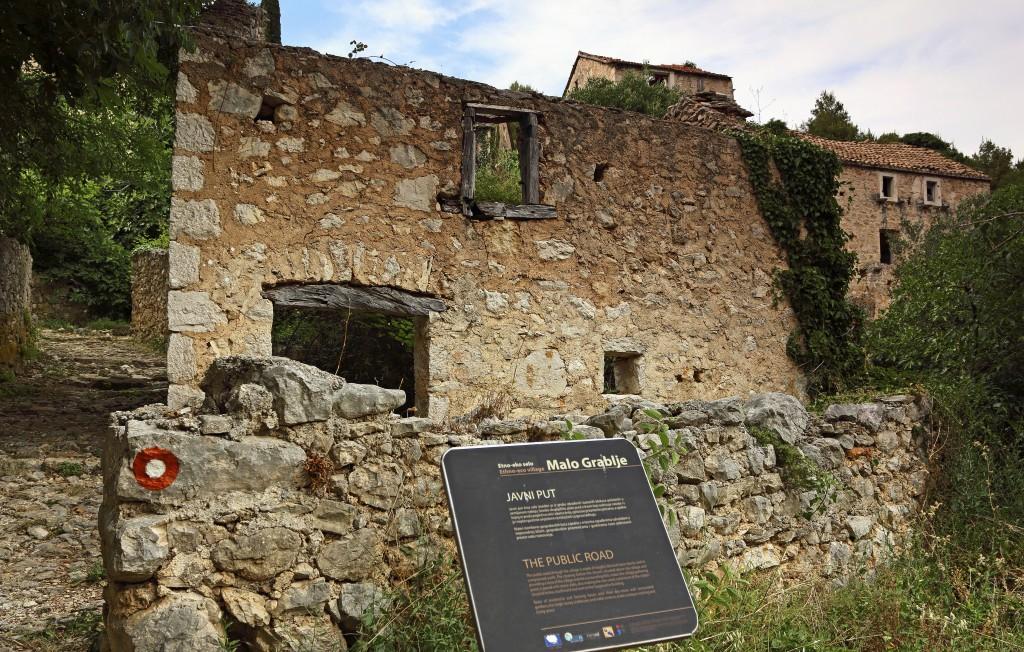 Zdjęcia: Velo Grablje, Środkowej Dalmacji -Hvar, Wyludniona wioska, CHORWACJA