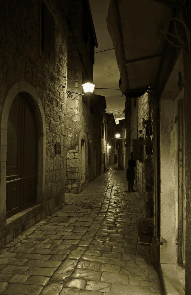 Zdjęcia:  Stari Grad , Środkowej Dalmacji -Hvar, Kręte uliczki -c.d, CHORWACJA