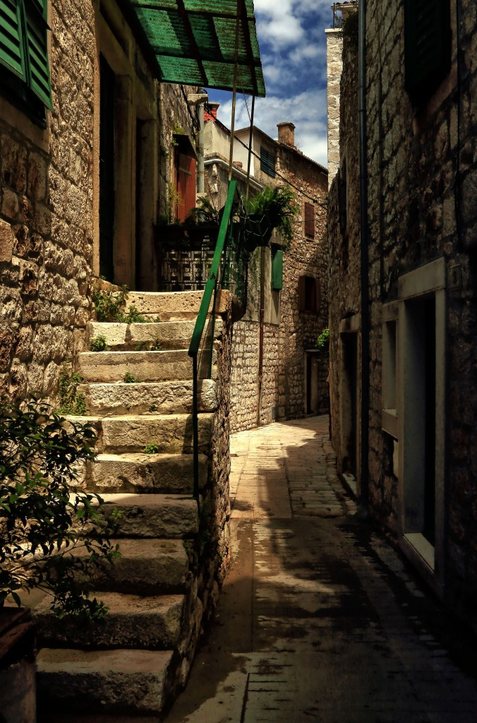 Zdjęcia:  Stari Grad , Środkowej Dalmacji -Hvar, W cieniu kamiennych uliczek-c.d, CHORWACJA