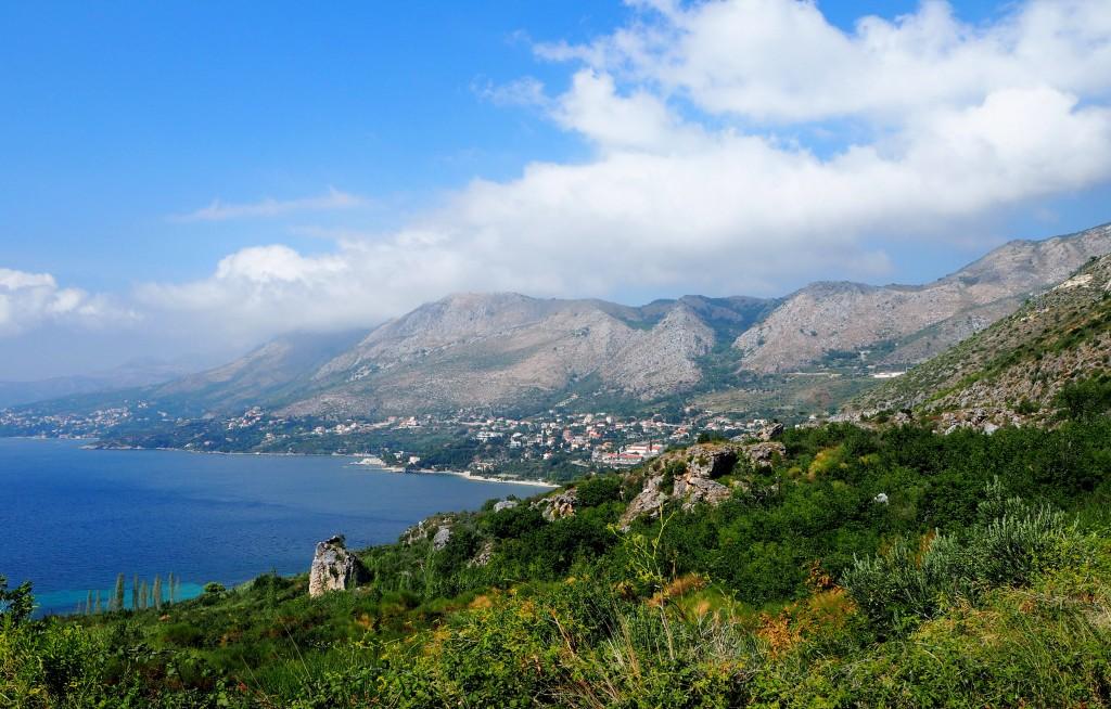 Zdjęcia: między Dubrownikiem a Cavtatem, Dalmacja południowa, w drodze do Cavtatu..., CHORWACJA