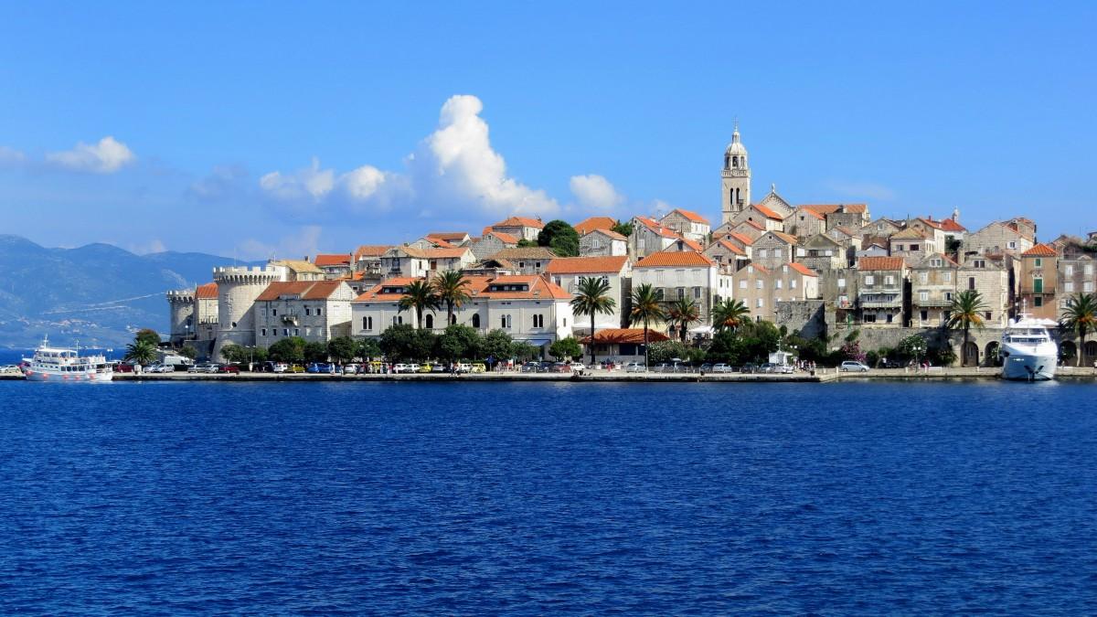 Zdjęcia: Korčula, Dalmacja południowa, moja  Korčula..., CHORWACJA