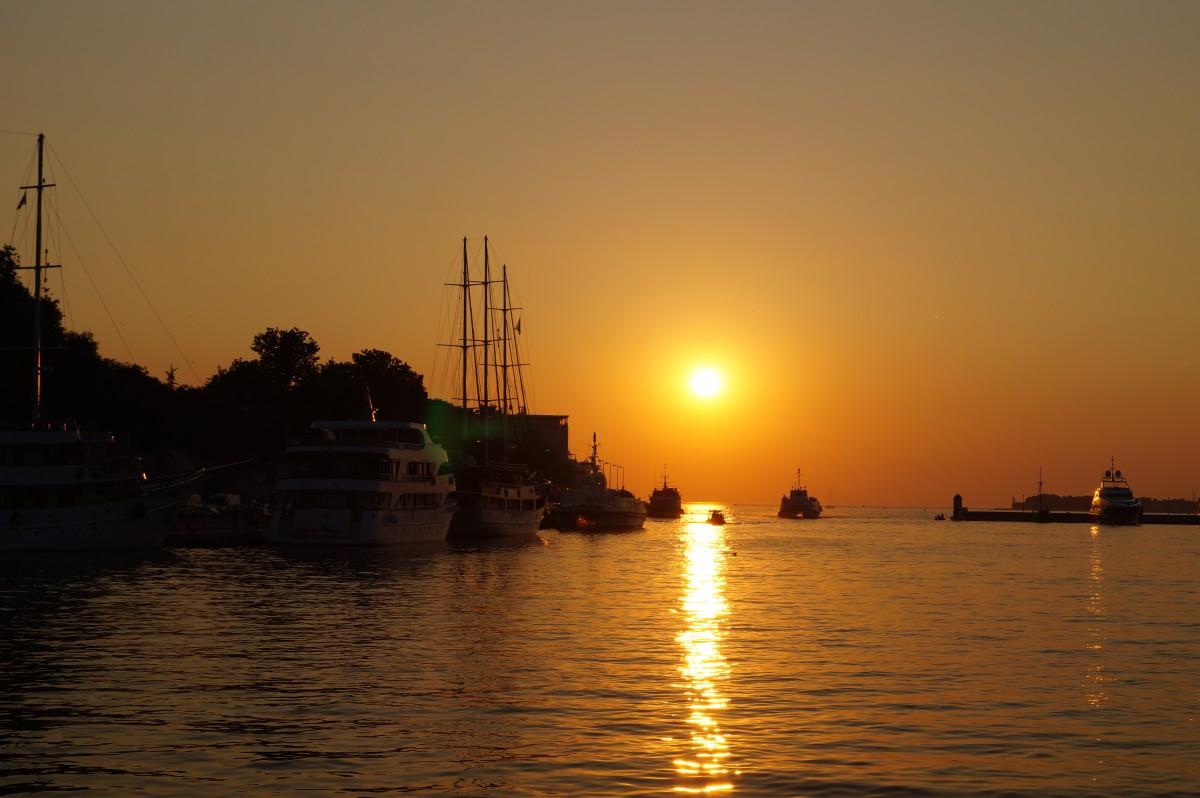 Zdjęcia: Zadar, Zadar, Sunset, CHORWACJA