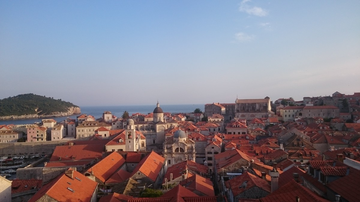 Zdjęcia: Dubrovnik, Dubrovnik, Widok z murów miasta, CHORWACJA