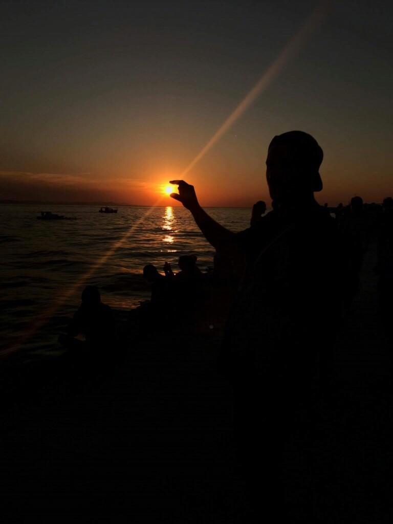 Zdjęcia: Nad morzem, Zadar, Uchwycić słońce :), CHORWACJA