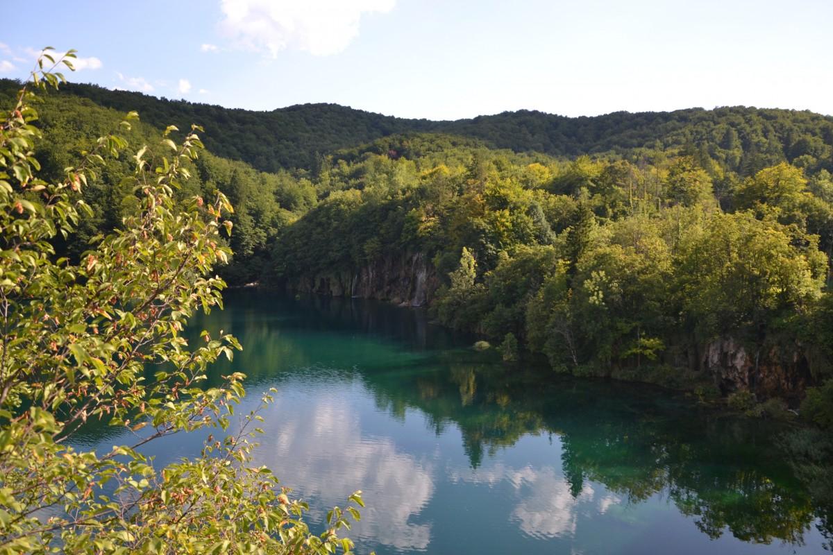 Zdjęcia: Park Narodowy Jezior Plitwickich, Żupania Licko-Senjska i Karlovacka, Jeziora Plitwickie, CHORWACJA