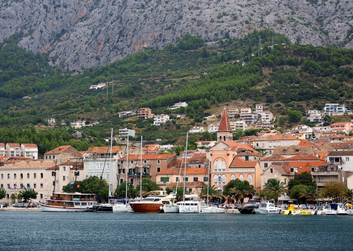 Zdjęcia: Makarska, Riviera Makarska, za dnia..., CHORWACJA