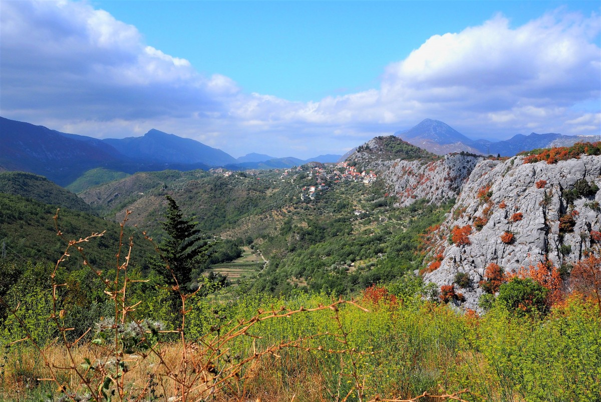 Zdjęcia: Kanion Cetiny, Dalmacja środkowa, resztki lata..., CHORWACJA