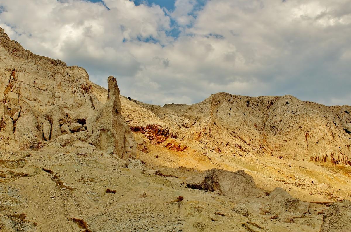 Zdjęcia: Wyspa Pag, Dalmacja, Milutki krajobrazik, CHORWACJA