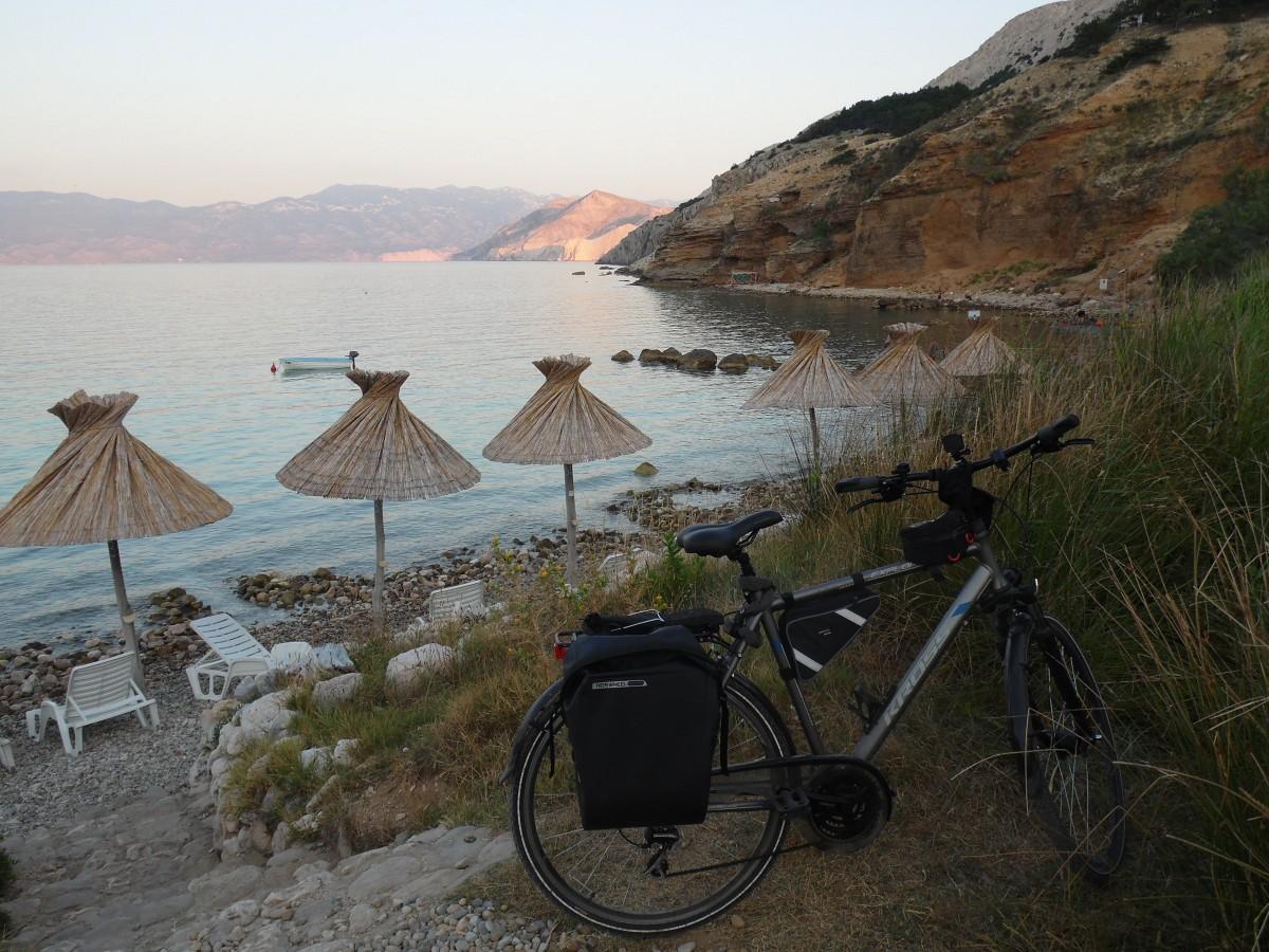 Zdjęcia: Wyspa Krk, Z rowerem na Płd. Europę, CHORWACJA